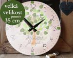 Tip na svatební dar, velké hodiny