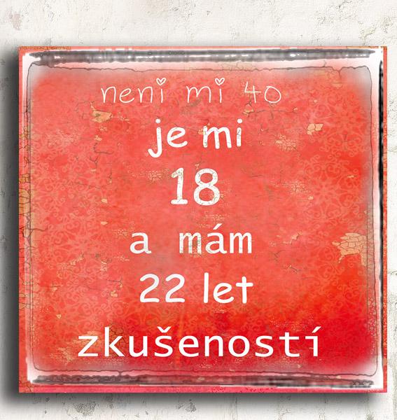 vtipné přání k 40 narozeninám Přání, dárek ke čtyřicetinám vtipné přání k 40 narozeninám