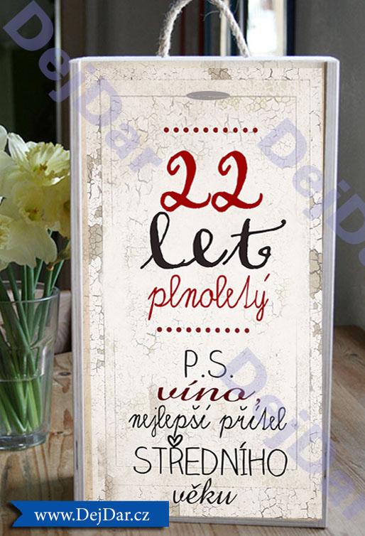 přání k 22 narozeninám dárek k narozeninám 40. přání k 22 narozeninám